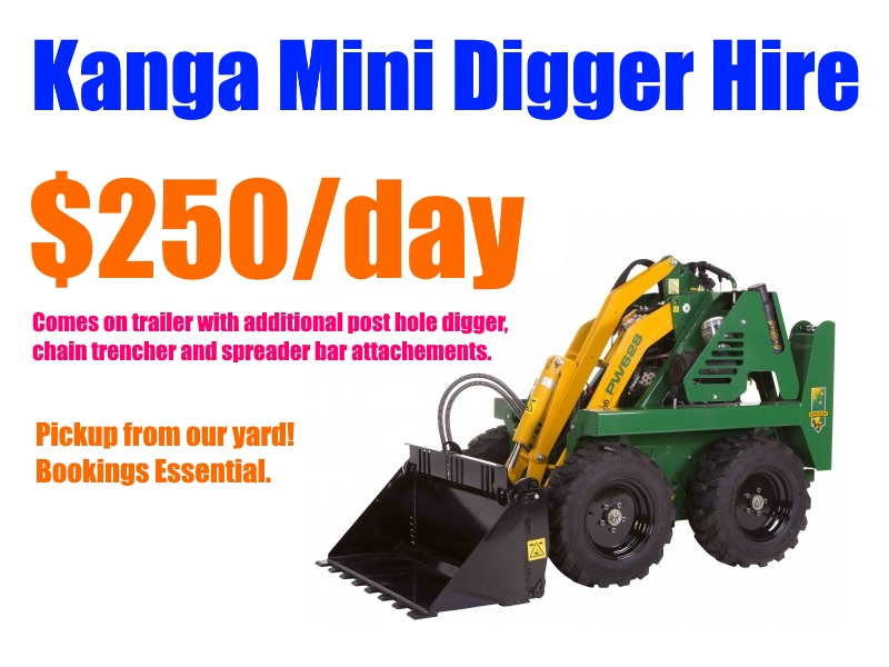 Kanga Hire Per Day