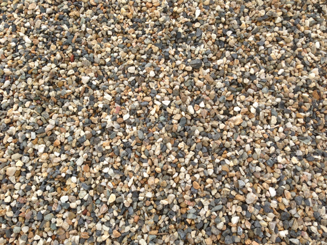 Crushed Blue Stone : River gravel crushed blue mm warner garden centre